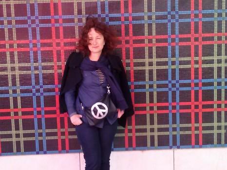 Elena en Lisboa en Abril de 2013