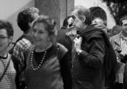 Jessica Llorente en la inauguración de Hurtado 25