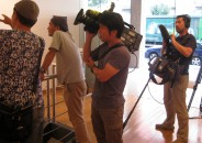 La TV japonesa entrevista a Quincoces 4