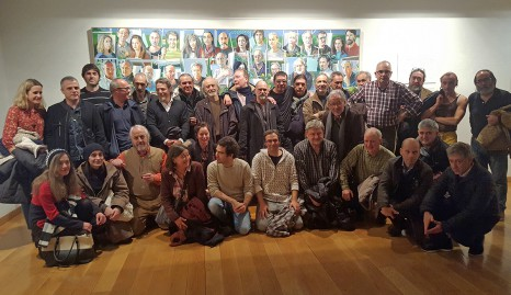 Alfonso Gortázar & his friends. Diciembre de 2016.