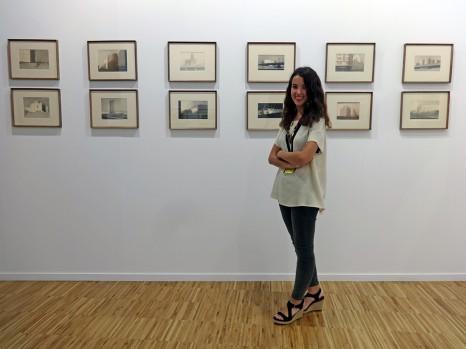 La galería Lumbreras en la feria ARTESANTANDER. Julio 2017.