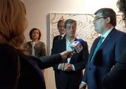 El Alcalde Juan Mari Aburto visita nuestra galería 7