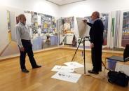Visita guiada y pintura en directo de Joaquín Ureña 6