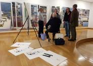 Visita guiada y pintura en directo de Joaquín Ureña 9