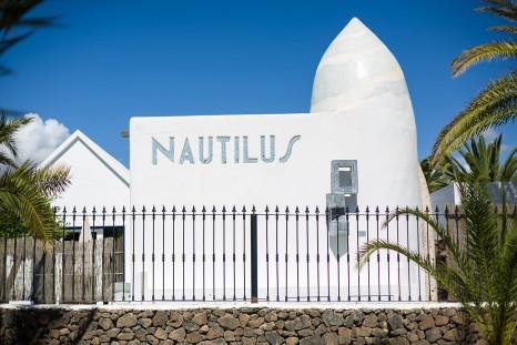 La Casa del Artista de Nautilus Lanzarore.