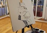 Visita guiada y pintura en directo de Joaquín Ureña 11