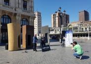 7 Esculturas, 7 Plazas de Mikel Lertxundi 4