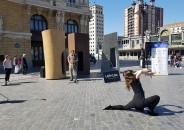 7 Esculturas, 7 Plazas de Mikel Lertxundi 7
