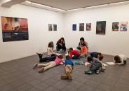 Clase de arte en la galería con Mikel Erkiaga 1