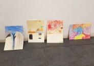 Clase de arte en la galería 5