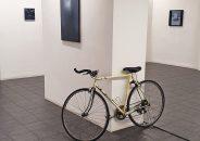 Pablo Astrain pinta en directo en la galería 5